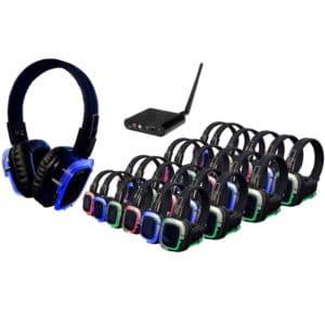 Silent Disco - 75 koptelefoons met 1 zender