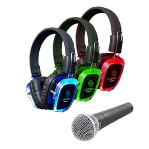 Silent Disco Company koptelefoons