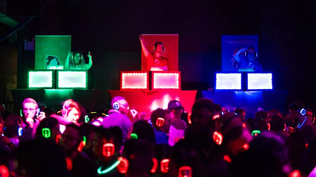Silent Disco DJ Battle 3