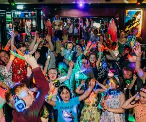 Silent disco kinderfeestje